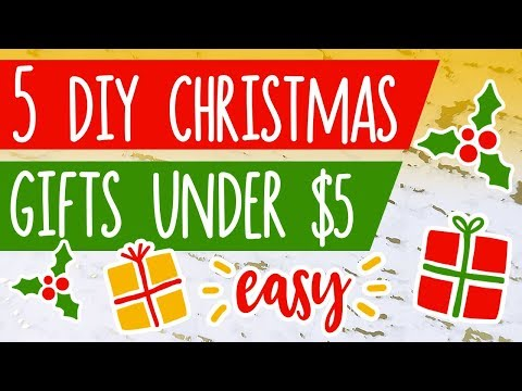 5 DIY Gifts UNDER $5 // Christmas On A Budget