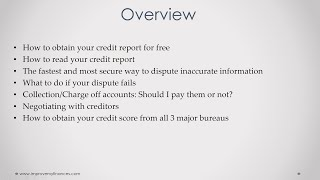 7 Steps On How To Fix My Credit Myself