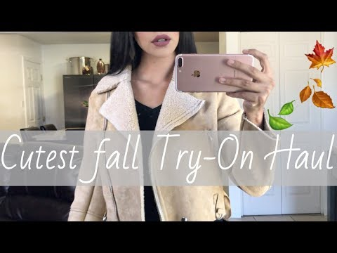 CUTEST ZAFUL TRY-ON HAUL (found the BEST LEATHER JACKET)