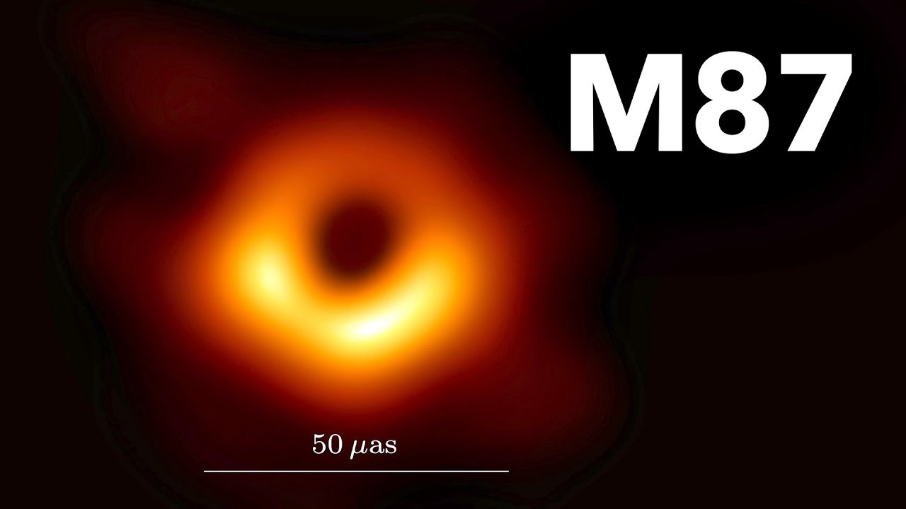 First Image Of A Black Hole Youtube