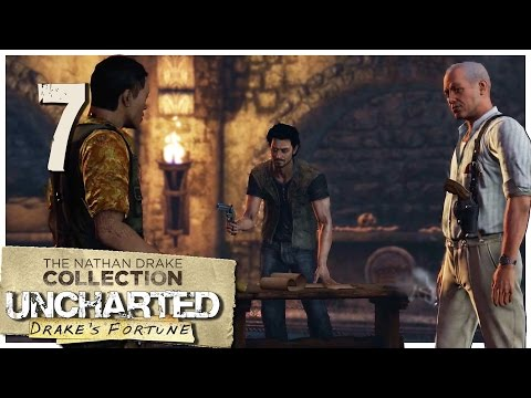 Let's Play Uncharted 1: Drake's Fortune [Blind] Part 7 - Cathedral [Uncharted Collection PS4 1080p]