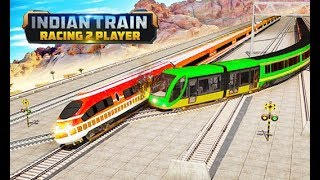 Indian Train Racing Games 3D - Multiplayer   Android/ios Gameplay Walkthrough   Droidnation