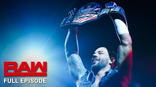 WWE Raw Full Episode, 24 June 2019