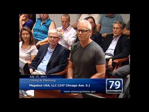 MegaBus Appeal Hearing July 25, 2013