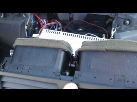 2006 BMW M3 E46 AC Vent replacement