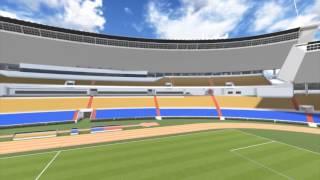 Proyecto arquitectónico de remodelación del Estadio Olímpico Atahualpa