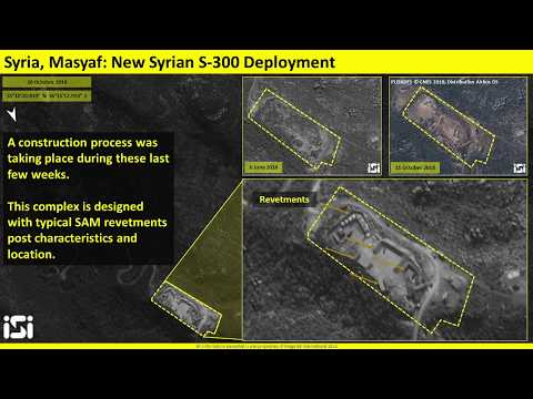 Israeli Satellite Spots the S-300 Missile Site in Syria