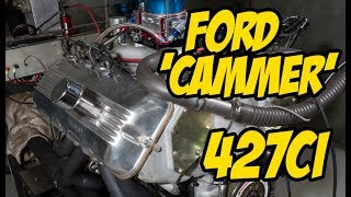 427ci SOHC Ford 'Cammer' On The Dyno