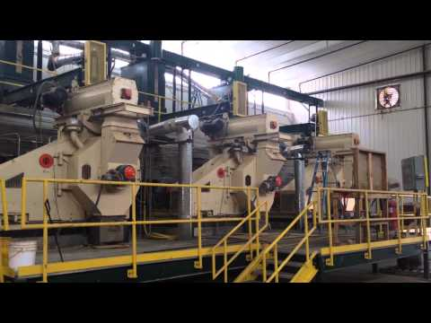 Pellet mill plant in USA