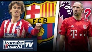 Griezmann zu Barça schon lange fix!? Premier League-Aufsteiger will Ribéry | TRANSFERMARKT