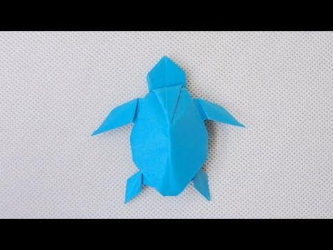 PAPER TURTLE | ORIGAMI TURTLE (Akira Yoshizawa) - Remake