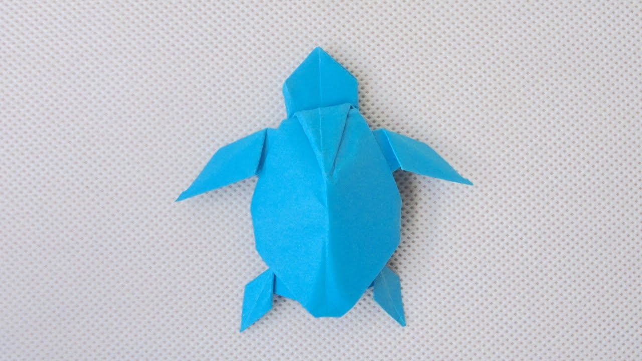 Origami Loggerhead Sea turtle - YouTube | 720x1280