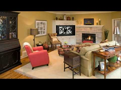 Living Room Furniture Layout Corner Tv