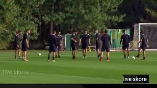 TRAINING SESSIONS AC MILAN TO EUROPE LEAGUE  VS AEK ATHENS