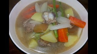 Making Vegetable Soup And Fried Beef For Lunch - Village Food Recipes