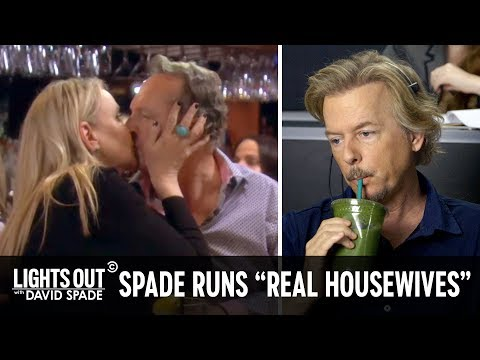 """How They Really Make """"The Real Housewives Of Orange County"""" - Lights Out With David Spade"""