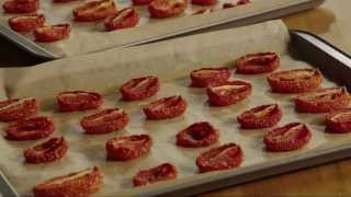 Tomato Recipe - How To Make Sun-dried Tomatoes