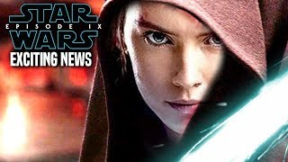 Star Wars Episode 9 Rey's Parents! Exciting News Revealed (Star Wars News)
