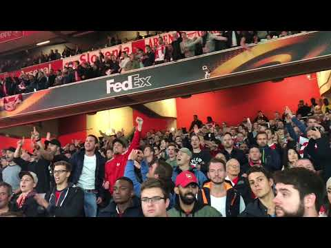 1. FC Köln Fans Away At Emirates