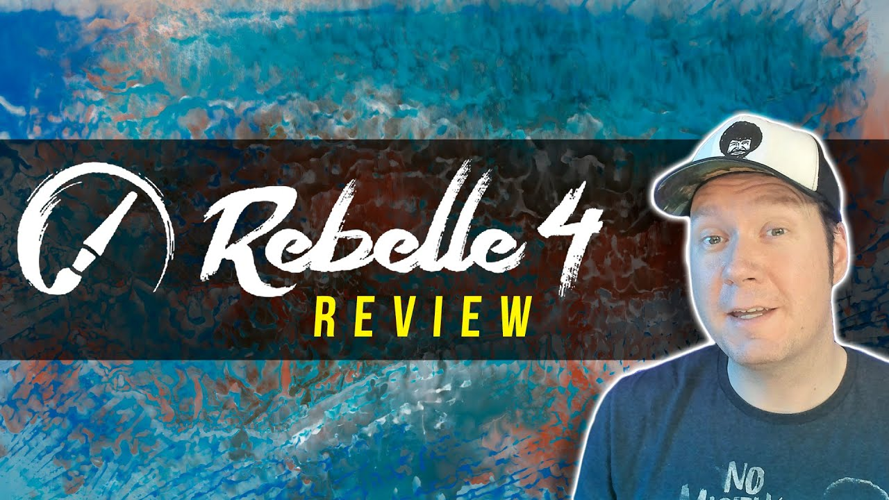 Download Rebelle 4 Review - How to Use the New Features