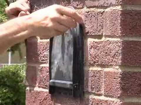 Brick Mailbox Repair Made Easy - YouTube