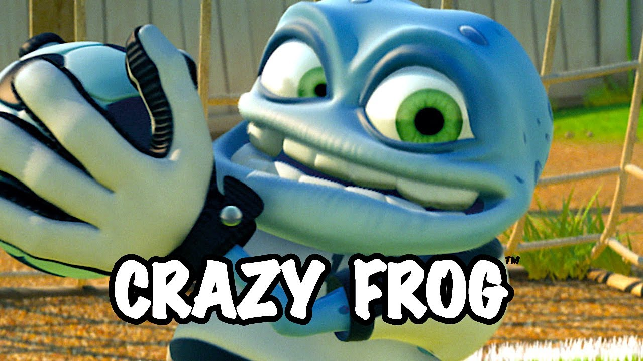 Funny Frog Cartoon Meme : Crazy frog we are the champions ding a dang dong youtube