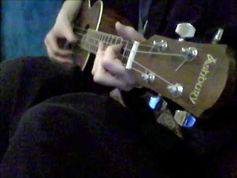 ZOMBIE - the cranberries - baritone ukulele