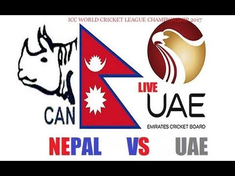 Nepal vs UAE wclc match !!! 2nd inningLive!!! Live!!!