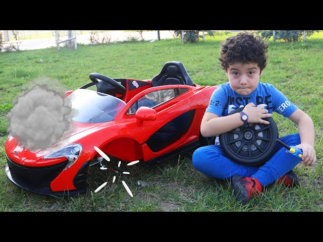 Yusuf's Battery Car broke down