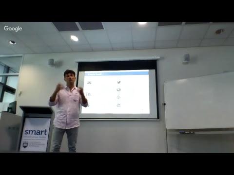 "SMART Seminar Series: ""Smart Cities: The Good, The Bad & The Ugly"" - Senior Professor Pascal Perez"