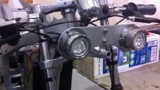X1 Pocket Bike Gas To Electric Conversion (part 1)