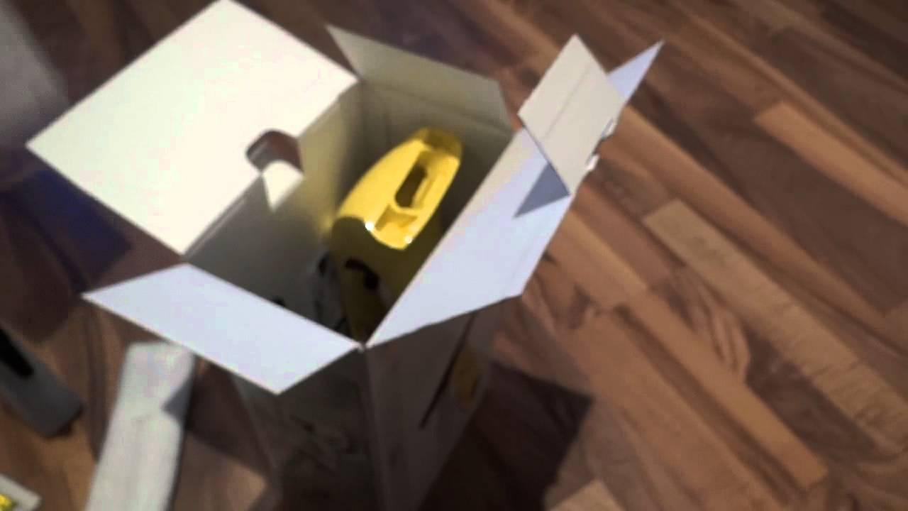 k rcher fenstersauger wv 50 plus unboxing review vorschau youtube. Black Bedroom Furniture Sets. Home Design Ideas