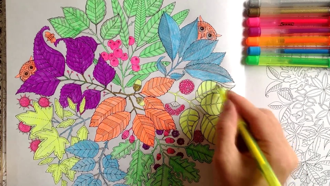 """""""Таинственный сад""""#1 Книга для творчества и вдохновения ..."""