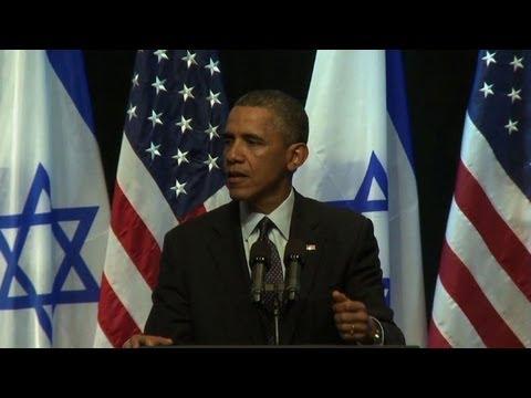 Obama Exhorte Israéliens Et Palestiniens à Avancer Vers La Paix