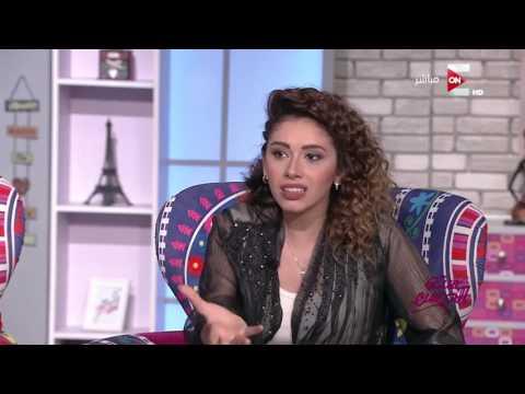 ست الحسن - الفنان يوسف منصور في أول ظهور مع إبنته مونيكا