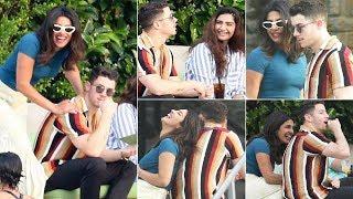 Priyanka Chopra, Nick Jonas, Sonam Kapoor And Anand Ahuja Enjoying In Italy