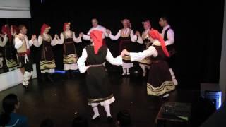 Bulgarian Folk Dances (HD) - Eleno Mome, Paidushko & Graovsko + Chichovo