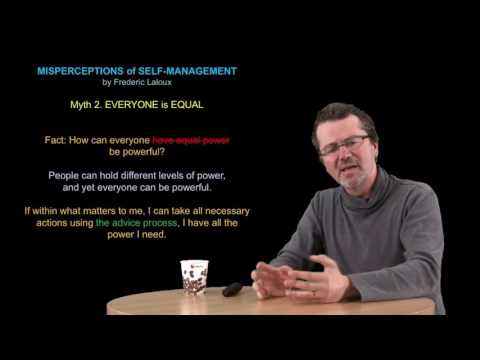 Misperceptions of Self Management by Frederic Laloux for NHTV students