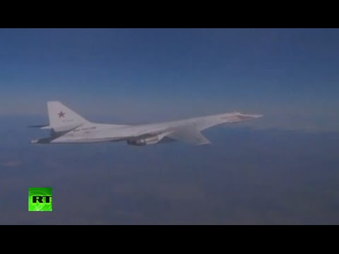 FIRST VIDEO: Russian strategic bombers on anti-ISIS sorties to Syria