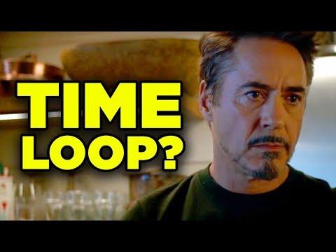 Avengers Endgame TIME LOOP Theory! Doctor Strange's Plan Explained!