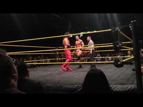 Main Event ENDING - NXT LIVE (San Jose,CA) 2016
