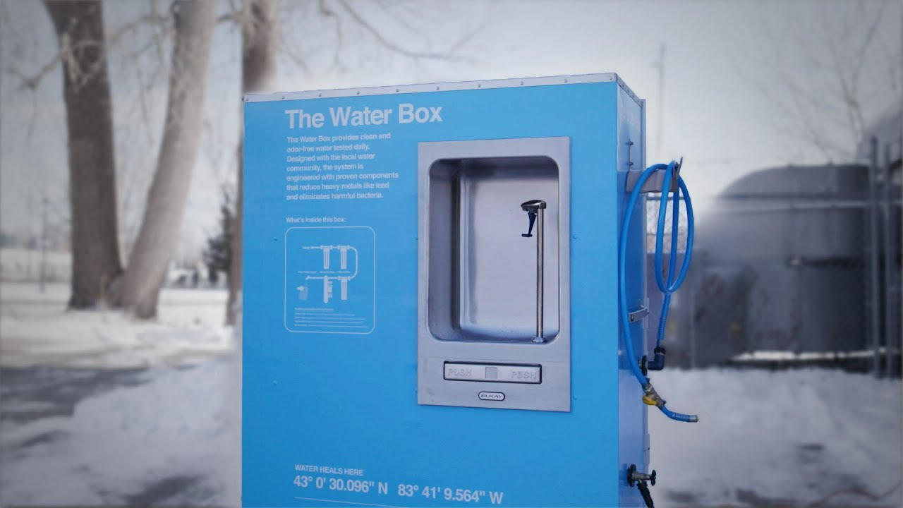 The Water Box in Flint