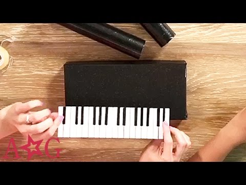 DIY Piano Keyboard Craft Studio American Girl YouTube