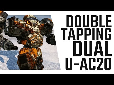 Double Tapping Dual U-AC20 with the Nova Cat - Mechwarrior Online The Daily Dose #487