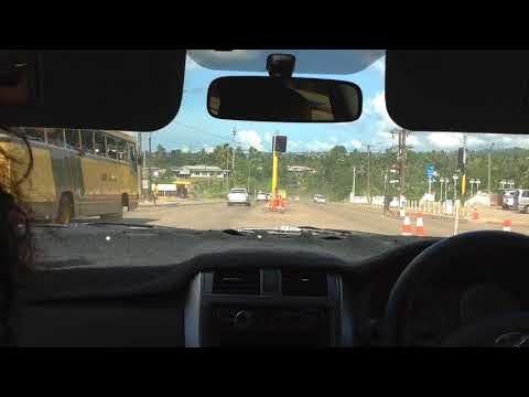 Travelling Around Suva, Fiji