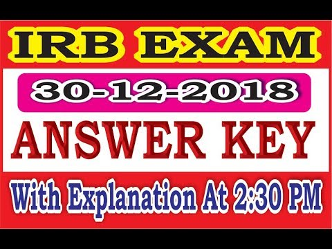 2:30 PM IRB Answer key With Analysis By Vidhyapeeth times