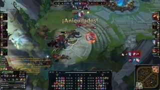 weirdest bug in league of legends ever no towers no minions everyone respawn in the same base