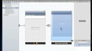 iOS Tutorial - Master Detail | Navigation Controller app using Storyboards - Part 1/2