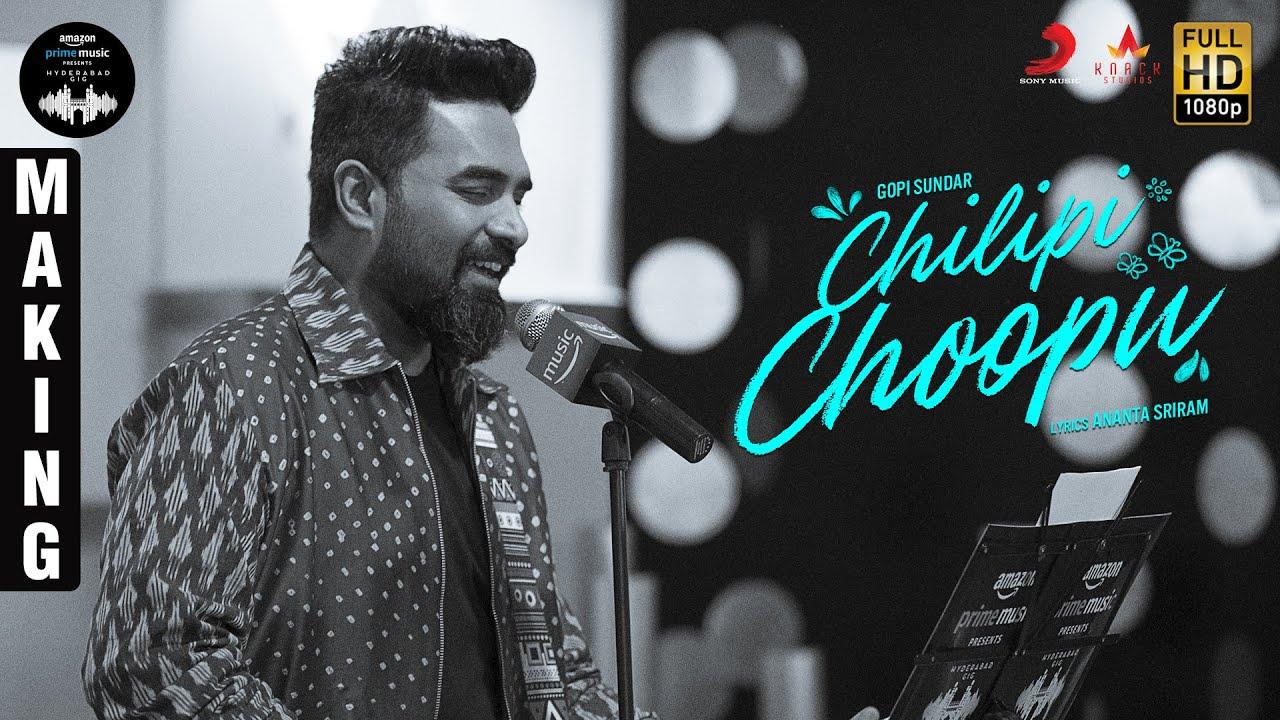 Amazon Prime Music Hyderabad Gig | Chilipi Choopu - BTS | Gopi Sundar
