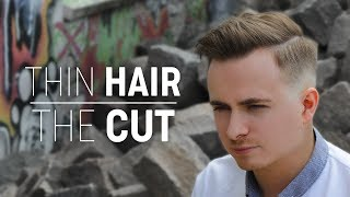 Modern Hairstyle for Thin Hair | Best Men's Inspiration